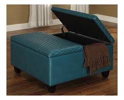 Aqua Storage Ottoman Fancy Blue Storage Ottoman Best Images About Ottomans Storage On