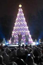 ge lighting illuminates the national tree ge lighting