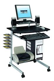 amazon com mobile u0026 compact complete computer workstation desk