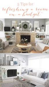 5 tips for refreshing a room on a budget hearth room reveal