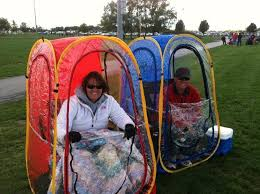 tent chair called the weather a portable tent that pops up and