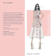 Pantones Color Of The Year Nyfw Pantone Color Report Top 10 Colors Rose Quartz Designer