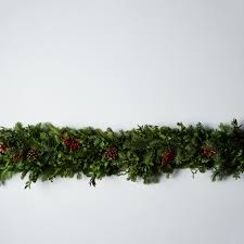 fir canella berry garland on food52