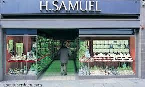 h samuel jewellery shop aberdeen