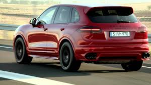Porsche Cayenne Suv - enthusiast driven the new porsche cayenne gts youtube