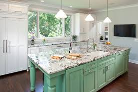 Green And White Kitchen Cabinets Traditional White Kitchen Painted With Sherwin Williams Paints