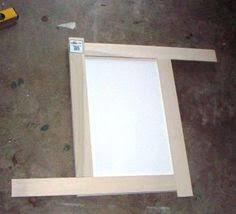 Adding Trim To Kitchen Cabinets by Adding Flat Trim To Existing Cabinet Doors Diy Pinterest
