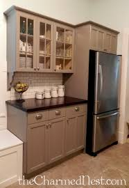 chalk painting kitchen cabinets ohhh the counter tops me like
