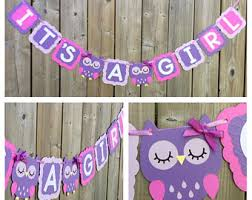 purple owl baby shower decorations owl baby shower decorations etsy