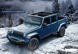 jeep wrangler blue 2018 jeep wrangler based pickup blue front three quarters roof