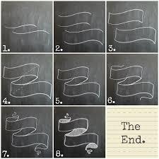 chalkboard banner tutorial creative entrepreneur pinterest
