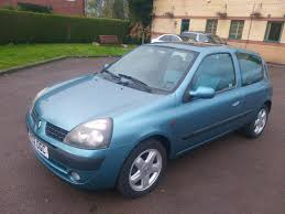 renault clio 2002 used renault clio 2002 for sale motors co uk