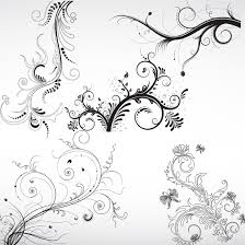 171 best floral vector graphics images on vector