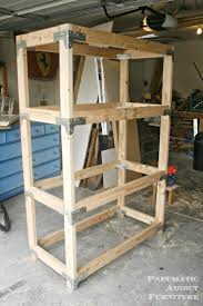 Building Wood Shelves Garage by Best 25 Heavy Duty Shelving Ideas On Pinterest Heavy Duty