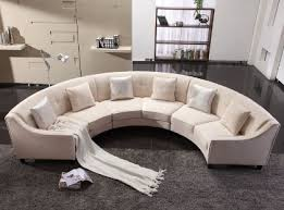 canapé demi cercle canape creme canape design demi cercle hillaby tissu et petit