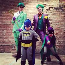 spirit halloween login neil patrick harris and family showcase gotham themed costumes for