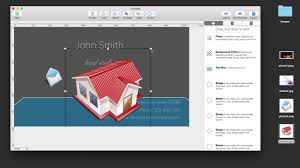 Design Your Own Business Cards Create Your Own Business Cards On A Mac How To Add Photos To