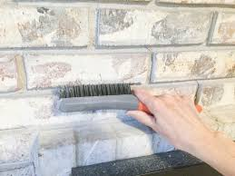 refacing a how to paint a brick fireplace u2014 jessica color