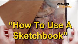 how to use a sketchbook youtube