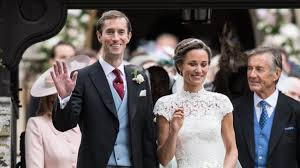 pippa middleton and james matthews just attended a wedding in
