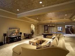 decor warm and comfy basement living room designs u2014 agrpaper com