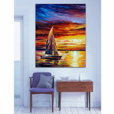 Boat Decor For Home by Online Get Cheap Impressionist Boat Aliexpress Com Alibaba Group