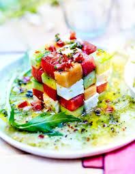 avocat cuisine rubik s cube pastèque melon avocat pour 6 personnes recettes