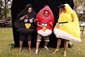 Angry Birds Halloween Costume Diy Angry Birds Costume Halloween Walyou