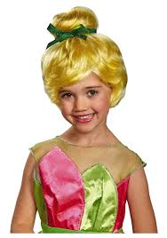Tinker Bell Halloween Costumes Tinker Bell Child Wig