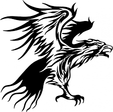 tribal flames eagle carvehicle tattoo design tattoomagz