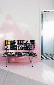 wand rosa streichen ideen haus renovierung mit modernem innenarchitektur kühles wand rosa