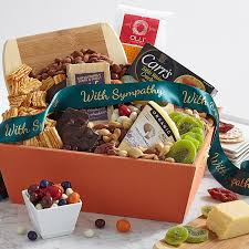 bereavement baskets sympathy gifts gift baskets shari s berries
