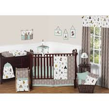 Jojo Crib Bedding 11pc Crib Bedding Set For The Outdoor Adventure Collection By
