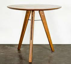 Expandable Bistro Table Modern Contemporary Dining Tables Luxe Home Philadelphia