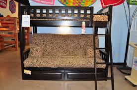 bunk bed with futon on bottom casanovainterior