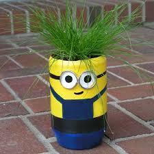 Garden Crafts For Children - minion terra cotta craft flower pot idea garden craft idea