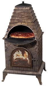 Pizza Oven Fireplace Insert by Deeco Aztec Allure Pizza Oven Outdoor Fireplace U0026 Reviews Wayfair