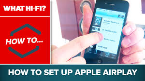 how to set up apple airplay youtube