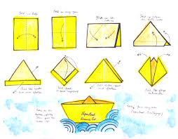 How To Make Boat From Paper - make a lil paper boat or two