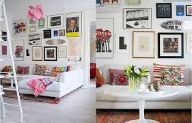 Decorator White Walls Bella Goldman U0027s Artistic Apartment