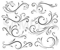 renaissance enhanced scroll designs vinyl ready ornaments