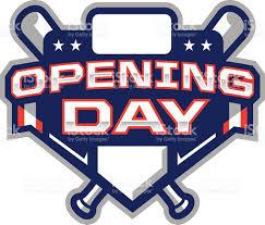 opening day logo stock vector 531072783 istock