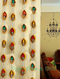 How To Make Wall Decoration At Home Door Hanging Designs Amazing Design Decor Disha Diwali Diy Made
