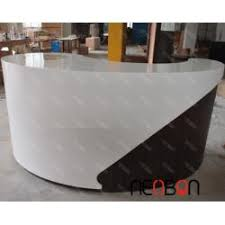 Used Curved Reception Desk Curved Reception Desk Salon Reception Desk Used Reception Desk