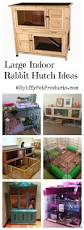 Super Hutch Large Indoor Rabbit Hutch Diy Rabbit Cage Ideas U0026 Accessories