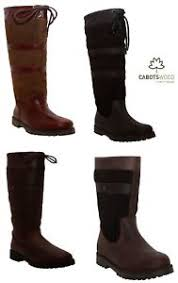womens yard boots womens outdoor leather waterproof stable yard