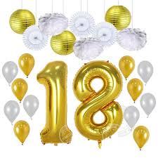 birthday balloons 23pcs lot 30 40 years birthday balloons party decor papet