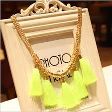 choker style necklace sale images New style lowest price fashion western statement elegant punk neon jpg