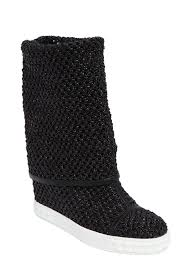 womens black boots sale casadei 80mm woven wedges boots black shoes casadei platform