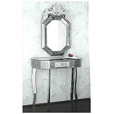 Quartz Console Table Quartz Black Mirrored Console Table Mirror Set Black Orchid Quartz